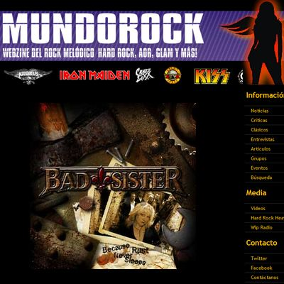 Bad Sister - Review Mundorock (Kolumbien)