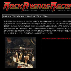 Bad Sister - Review Rock Avenue (Japan)