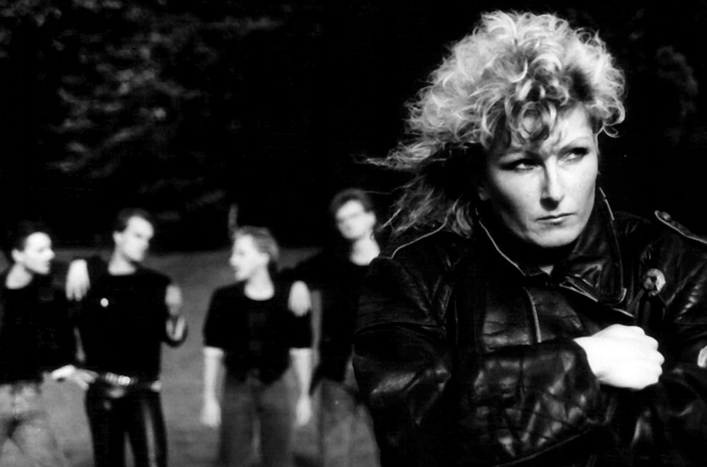 Singer Petra Degelow and BAD SISTER - Band Photo 1988