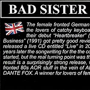 Bad Sister - Review AOR Heaven